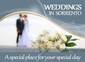 wedding Sorrento hotel
